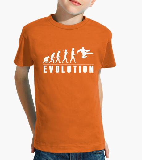 Ropa infantil Evolution Karate Kung Fu Blanco