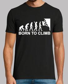 evolution klettern
