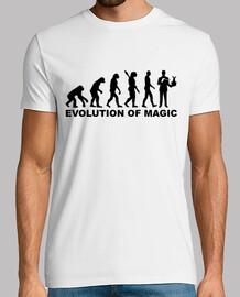 évolution magicien