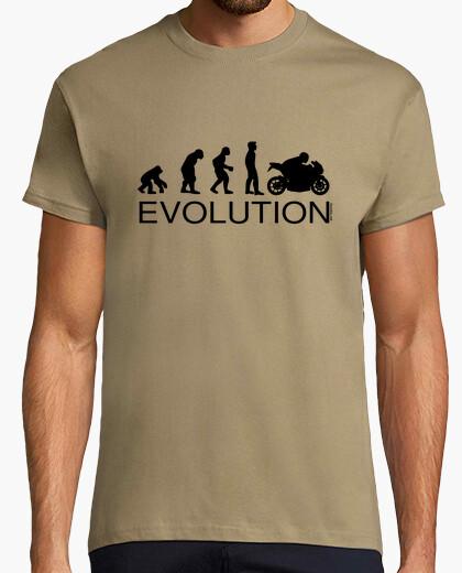 Camiseta Evolution Motard Hombre
