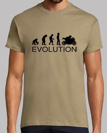 évolution motard man