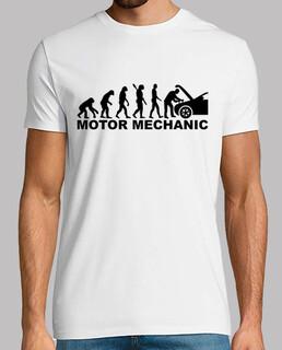évolution moteur mécanicien