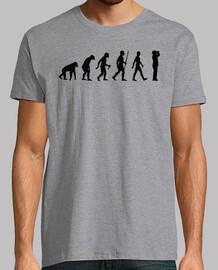evolution of ornithologist (man)