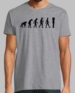 évolution ornithologue (homme)