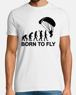Evolution parachutisme - Né pour voler