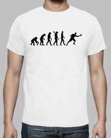 Evolution ping pong player
