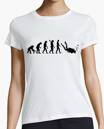 Tee-shirt évolution plongée