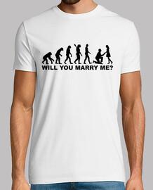 évolution proposition de mariage de mariage