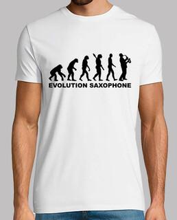 évolution saxophone