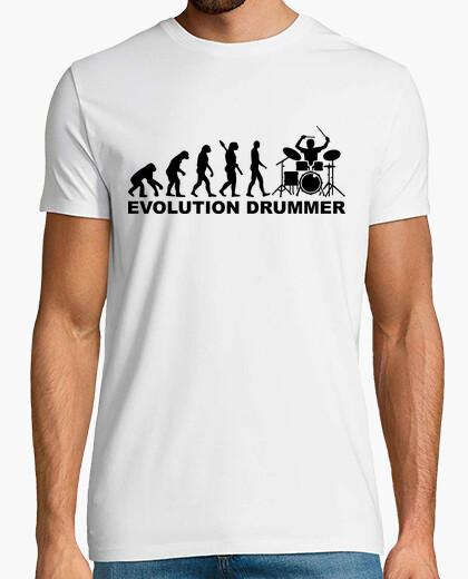 T-Shirt evolution schlagzeuger