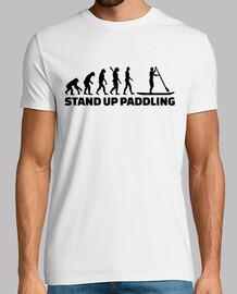 évolution stand up paddling