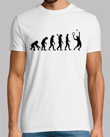 Evolution Tennis player
