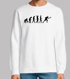 Evolution Tischtennisspieler