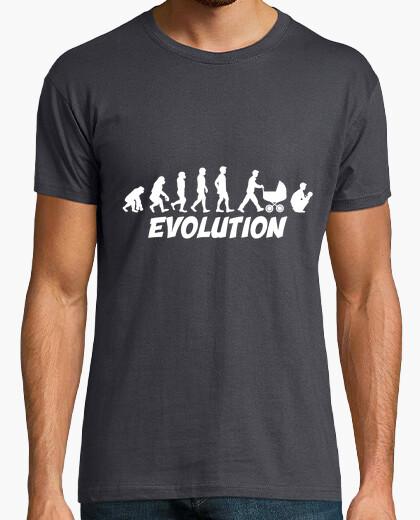 T-shirt evoluzione