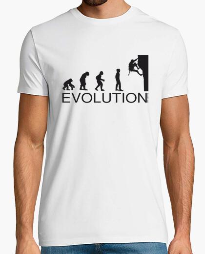 T-shirt evoluzione arrampicata uomo