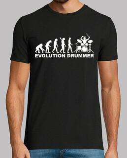 evoluzione del batterista