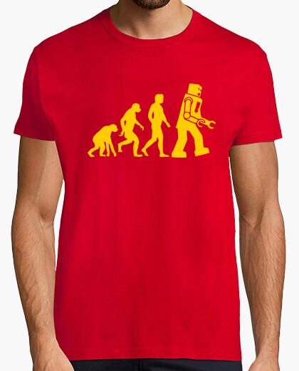 T-shirt evoluzione del robot