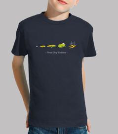 Evoluzione della rana francese