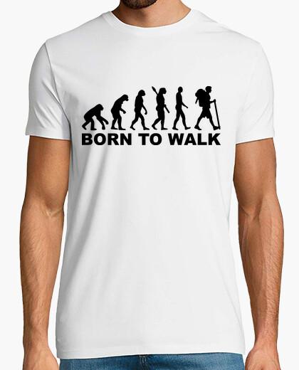 T-shirt evoluzione hiking nato per camminare