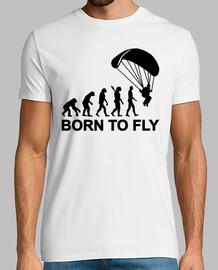 evoluzione paracadutismo nato per volare