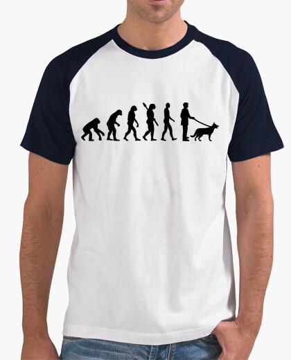 T-shirt evoluzione pastore tedesco