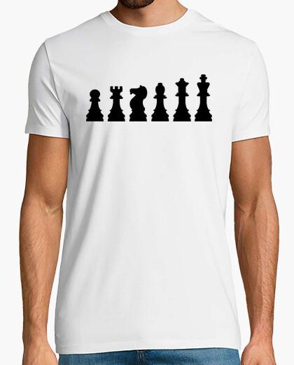 T-shirt evoluzione scacchi