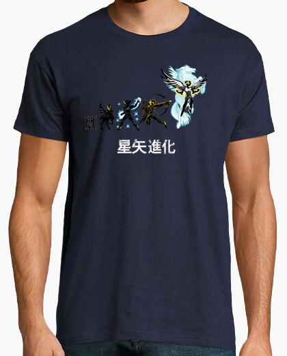 T-shirt evoluzione seiya (versione pegasus)