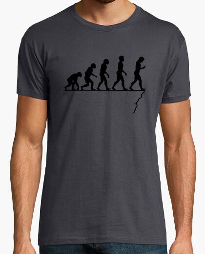 T-shirt evoluzione smartphon