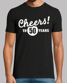 evviva al compleanno di 50 anni