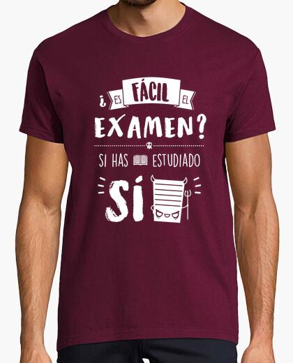 Camiseta Examen