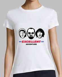 excelente aventura camiseta / bill & ted / mujer