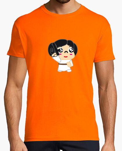 Camiseta ExM12 - Star Wars - Leia Organa chico