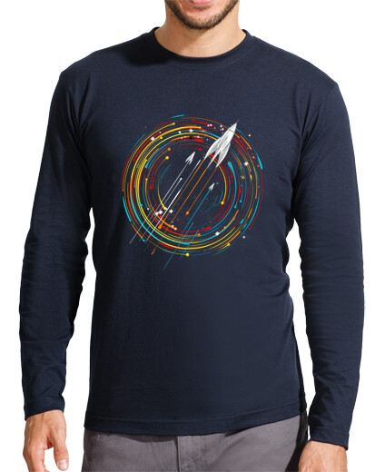 Open T-shirts space/astronaut