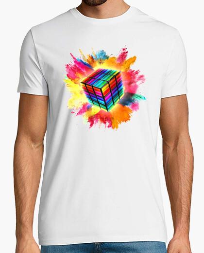 Camiseta Explosión de Rubik
