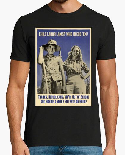 Camiseta Explotación infantil USA