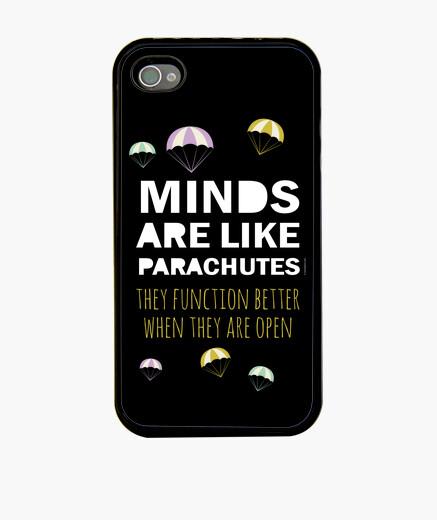 Coque iPhone expression inspirée: l'esprit-parachute