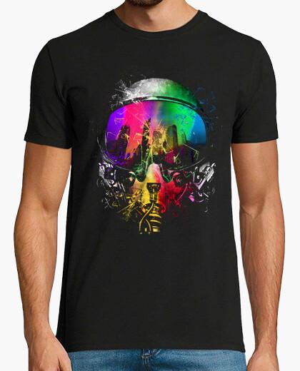 Camiseta expulsión de color