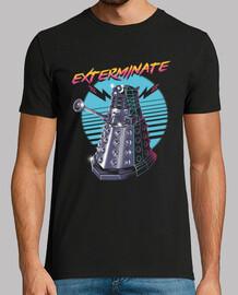 exterminar la camisa para hombre