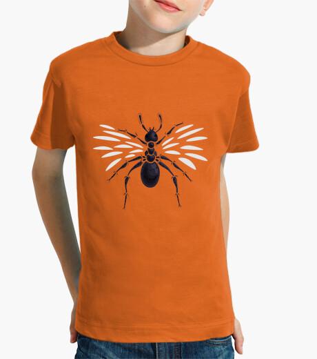 Ropa infantil extraña hormiga voladora abstracta