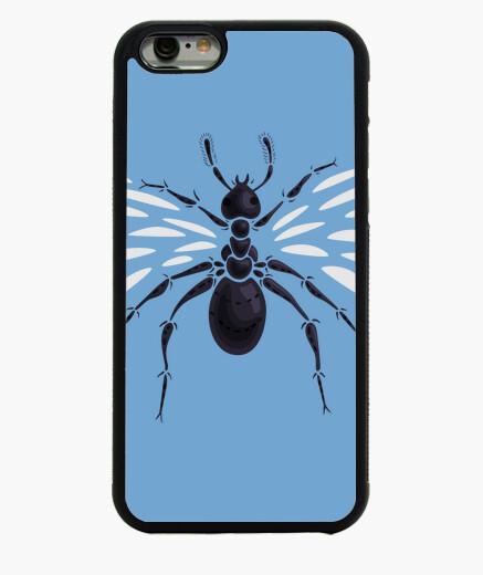 Funda iPhone 6 / 6S extraña hormiga voladora abstracta