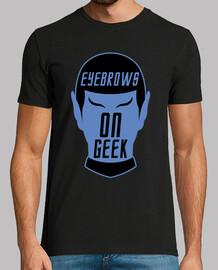 Eyebrows on geek!