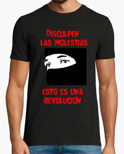 Camiseta EZLN Pecho/Espalda