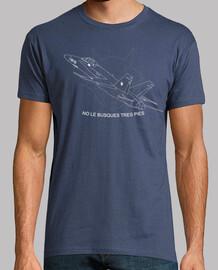 F18 Hornet No le busques tres pies