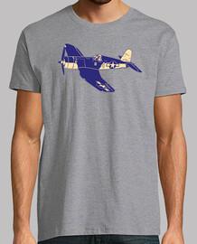 F4U Corsario Avión Casa; Corsair Fighter Aircraft