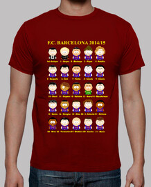 F. C. Barcelona 2014-15 South Park (busca el diseño actualizado 2016/17!!!)