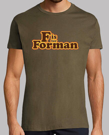 F is for Forman