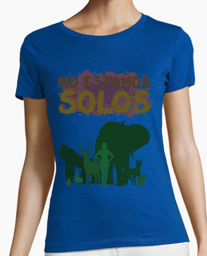 Tee-shirt f nous ne sommes pas seuls