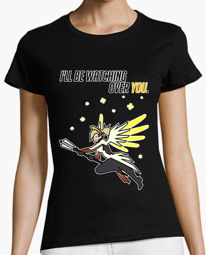 Tee-shirt f overwatch - merci