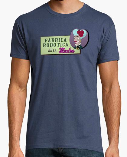 Camiseta Fábrica Robotica de la Madre -