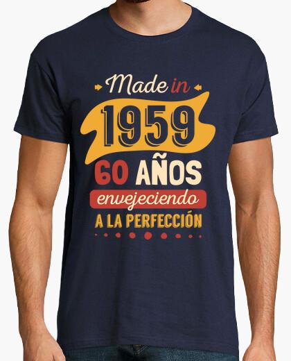 Tee-shirt fabriqué en 1959, 60 ans vieillissement à la perfection